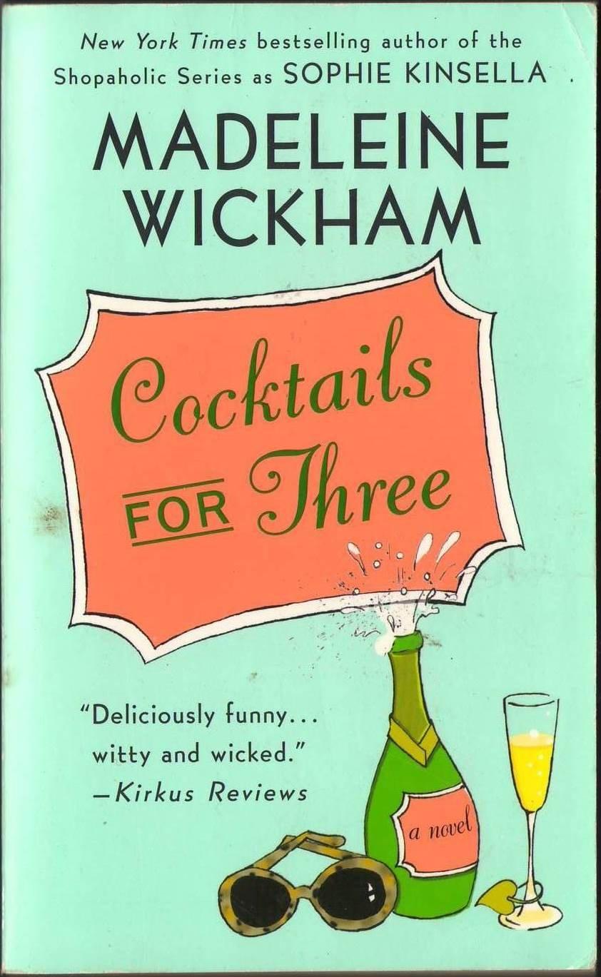 Cocktails For Three by Madeleine Wickham Fiction Fantasy Paperback Novel Book Secrets