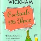 Cocktails For Three by Madeleine Wickham Fiction Fantasy Paperback Novel Book Secrets