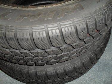 Pirelli 190 Snowcontrol 175/70 R 13 82 T DOT XJ C755, 4 Used Winter Tires