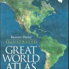 Great World Atlas Illustrated Reader's Digest Hardcover SMC