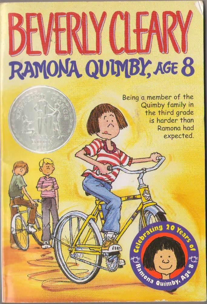 Ramona Quimby, Age 8 by Beverly Cleary SMC