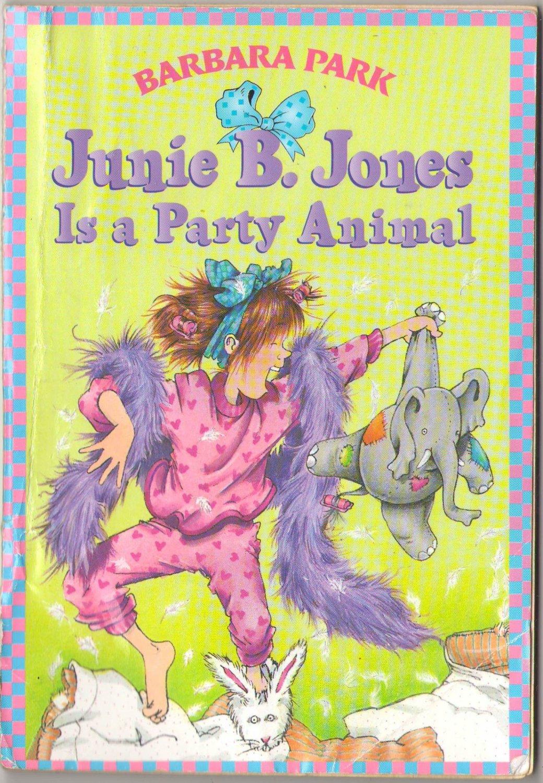 Junie B. Jones Is A Party Animal by Barbara Park SMC
