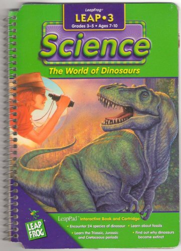 Leap 3 Science The World Of Dinosaurs LeapFrog Ages 7-10 SMC