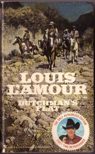 Dutchman's Flat by Louis L'Amour Paperback Book Novel SMC