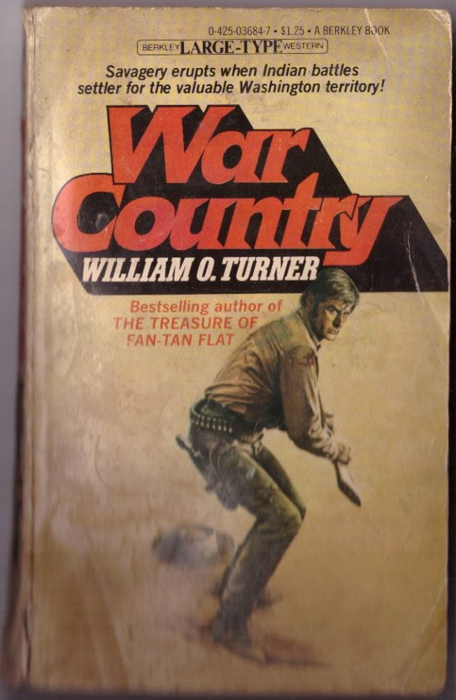 War Country by William O. Turner Paperback Book