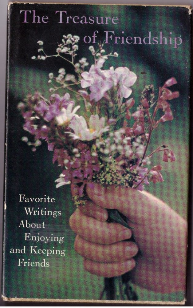 The Treasure of Friendship by Hallmark Hardcover Book Poetry Poem Friendship