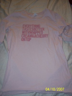 Abercrombie & Fitch T Shirt Womens Large