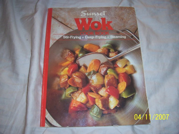 Sunset Wok Cookbook  Free Shipping