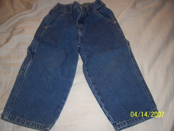 Old Navy Carpenter Jeans Boys 2T  Free Shipping