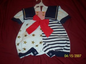 New Great Flamingo Sailor Bubble Girls 18 Months  Free Shipping