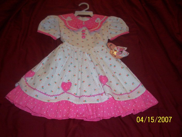 New Kids Fashion Dress Girls 4  Free Shipping