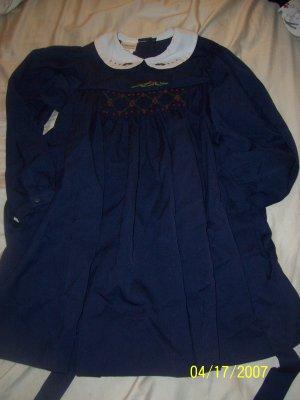 Samara Smocked Dress Girls 6X  Free Shipping