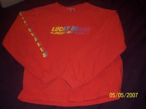 Lucky Long Sleeved T Girls 7/8  Free Shipping