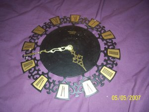 Vintage Paico Clock  Free Shipping