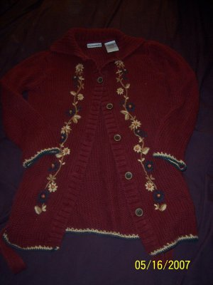Mary Kate and Ashley Sweater Girls 7/8  FREE SHIPPING