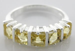 GENUINE Citrine,   925 Sterling Silver