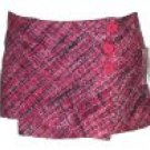 Junior Knit Wrap Around Skirts with Side Button Accents