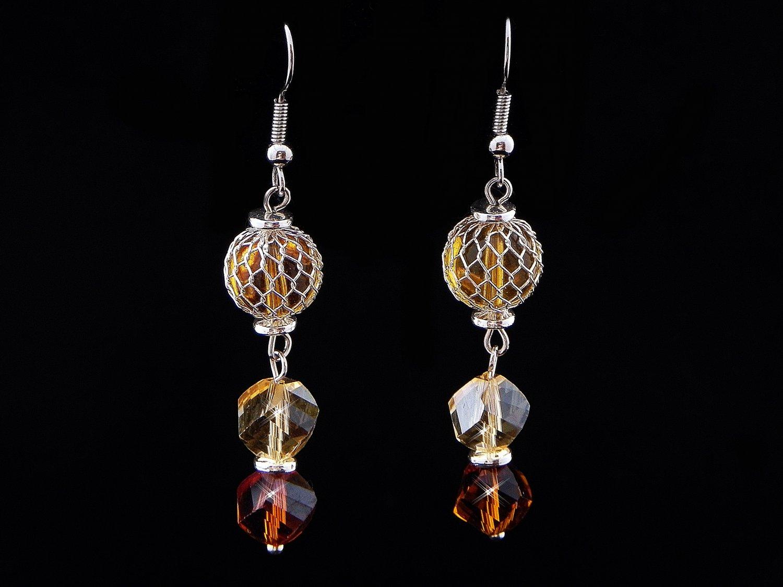 Handmade Mini Dangling Earrings (Item#: 00310)