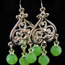 Dangling Swarovski Crystal Earrings (Item #: 00302)