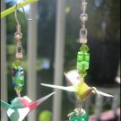 Beaded Origami Cranes