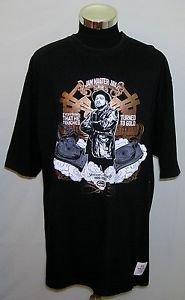 Ecko Unlimited Men's Black Jam Master Jay Run DMC Short Sleeve T-Shirt Size 2XL