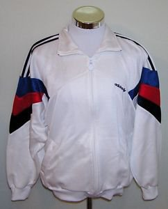 Maccabi Youth Games Vintage Detroit 1990 Men's Full Zip Track Jacket Size Large