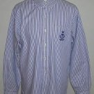 Ralph Lauren Polo Athletic Club Men's Striped Long Sleeve Button Up Shirt Size L