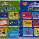 Help With Homework English and Math Lot of 2 Education Books (Grades 1-4)