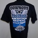 Dallas Cowboys NFL Football Cowboys Team Apparel Americas Team T-Shirt Size M