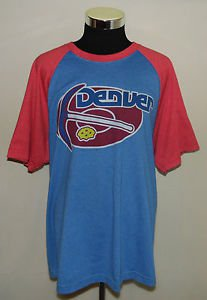 Denver Nuggets NBA Basketball Hardwood Classics Brand T-Shirt Adult Size 2XL