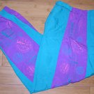 LA Gear Los Angeles Vintage 80's 100% Nylon Gym Running Training Pants Size L/G
