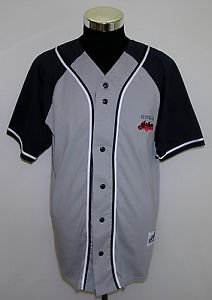 Cleveland Indians Men's Vintage Dynasty MLB Brand Baseball Jersey Size Large