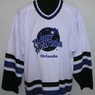 Planet Hollywood Orlando Vintage 1991 Hockey Style Jersey Size L Orlando Magic