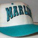 Florida Marlins MLB Vintage 90's Script Front Side Logo Snapback Hat Cap