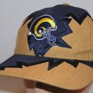 Los Angeles Rams NFL Football Vintage 90's Drew Pearson Shockwave Strapback Hat