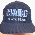 Maine Black Bears NCAA Vintage Twins Ent Collegiate Blue Corduroy Baseball Hat