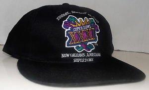 SuperBowl XXXI Vintage Logo7 Pro Pocket Snapback New England Patriots vs Packers