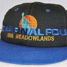 NCAA Final Four 1996 Meadowlands Official Black All Sport Snapback Hat Cap