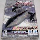 X-Plane 8 Deluxe Ultra Realistic Flight Simulator Global Scenery 7 DVD-ROMS