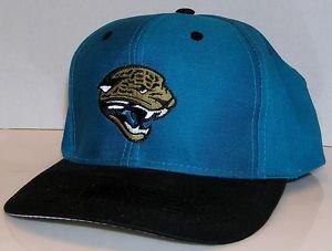 Jacksonville Jaguars NFL Football Vintage Logo 7 Fiber Optic Lights Snapback Hat