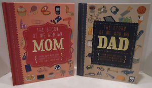 The Story Of Me and My MOM My DAD Memory Books Show Your Favorite Experiences