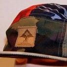 LRG True Heads Camo Multi Designs Five Panel Urban Hip Hop Strapback Hat Cap