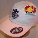 Fellowship of Christian Athletes Breast Cancer Golf Lot of 5 PINK Velcro Hat