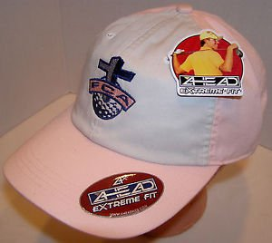 Fellowship of Christian Athletes Lot of 5 Breast Cancer Golf PINK Velcro Hats