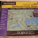 National Geographics Maps Trail Illustrated National Park Maps TrailSmart CD-ROM