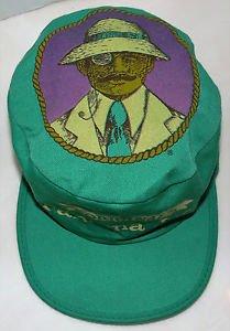 Panama Jack Vintage Rare 80 s Original Hat Painters Cap Made In USA acec455035e