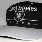 Los Angeles Raiders Vintage 80/90's Eastport Black Silver Snapback NFL Football
