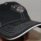 TaylorMade Golf Tour Preferred TP Black Cage Black Baseball Strapback Hat PGA