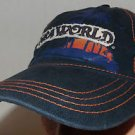 Sea World Park and Entertainment Exclusive Blue Velcroback Hat Cap Shamu