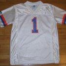 Florida Gators NCAA Brand SEC Football White #1 Jersey Youth Size L (14-16)